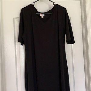 LuLaRoe 3XL Julia Dress Little Black Dress